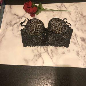Victoria Secret Demi Bustier Cousinne 36C